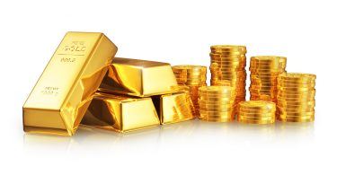 gold investing coins and bars