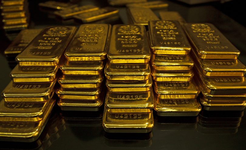 gold investing bars